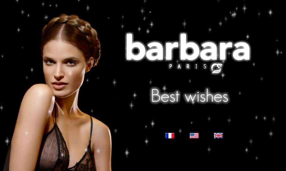 Animation voeux Barbara lingerie
