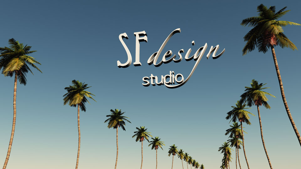 Logo SFdesign studio - Rodeo drive