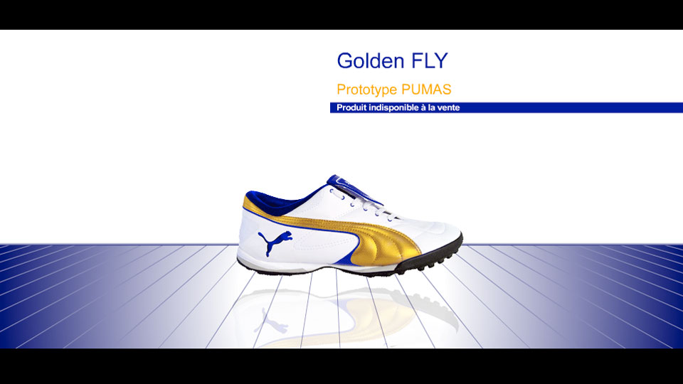 Animation basket Pumas Golden Fly