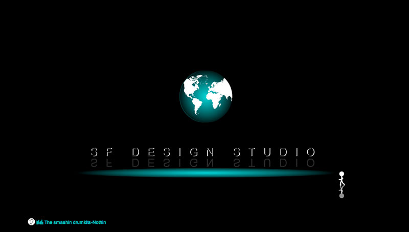 Animation d'intro SFdesign studio
