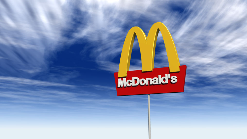 Logo 3D Mc Donald's Arizona