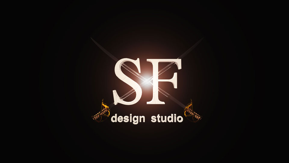 Logo SFdesign studio pirates