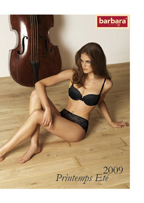 Catalogue interactif Barbara lingerie PE09