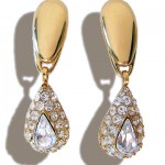 Boucles strass