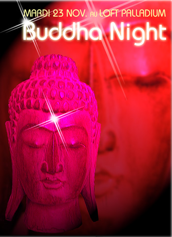 Flyer Buddha Night