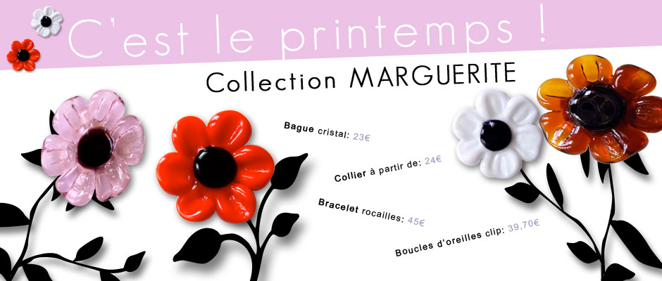 Bannière Collection Marguerite
