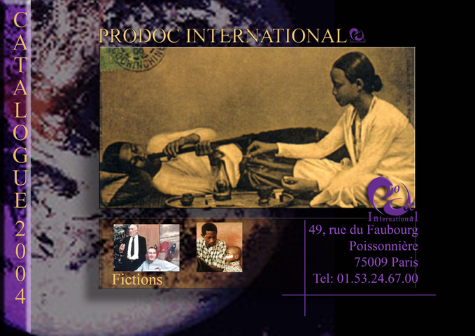 Couverture catalogue Prodoc Internationnal