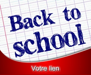 Bannière Back to school