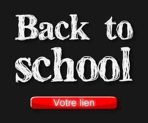 Bannière Back to school String