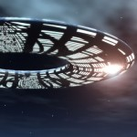 Illustration 3D UFO