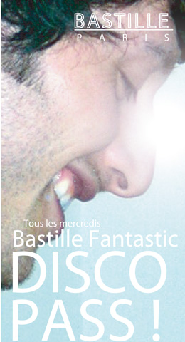 Flyer Bastille Disco Pass